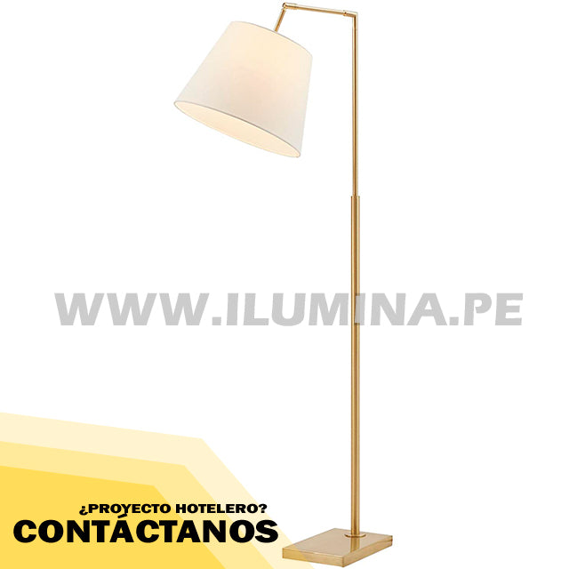 LÁMPARA DE PIE ARCO GOLD ALEGRIES