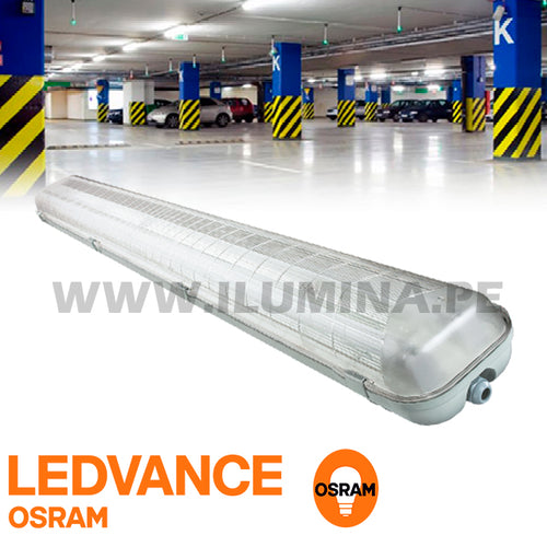 Hermético LED 1.20m - OSRAM 02Luces