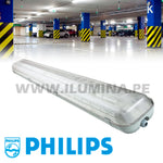 Hermético LED 1.20m PHILIPS 02Luces