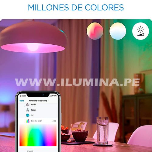 FOCO LED RGB SMART 9W INTELIGENTE WIZ