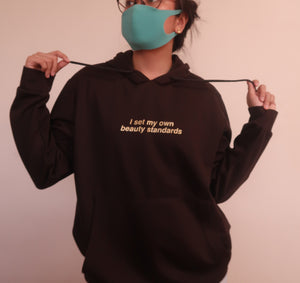 Beauty Standards Hoodie by Morena the Label
