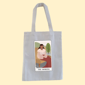 The Morena Tote Bag by Ajj Morales