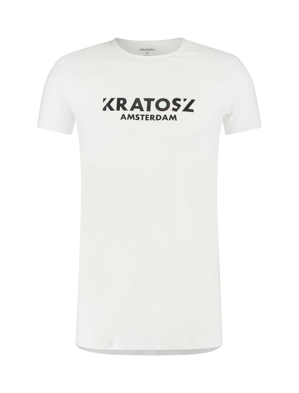 Adonis Short Sleeve T-shirt Wit-Kratosz