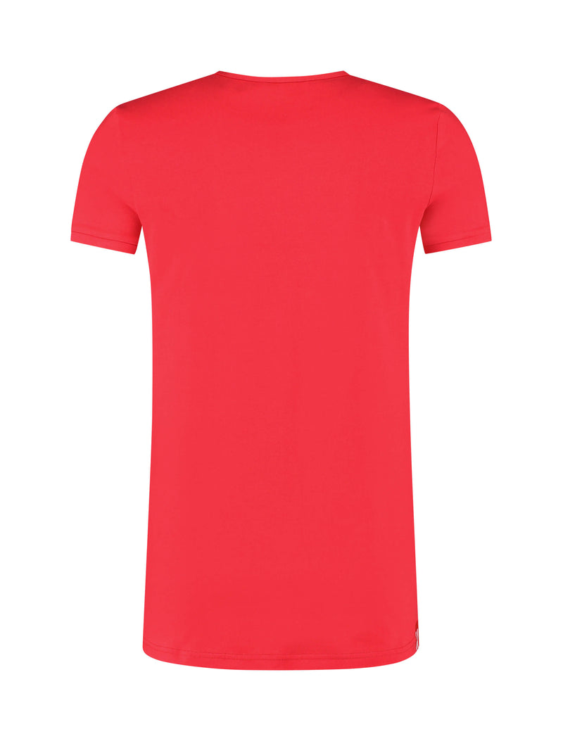 Adonis Short Sleeve T-shirt Rood