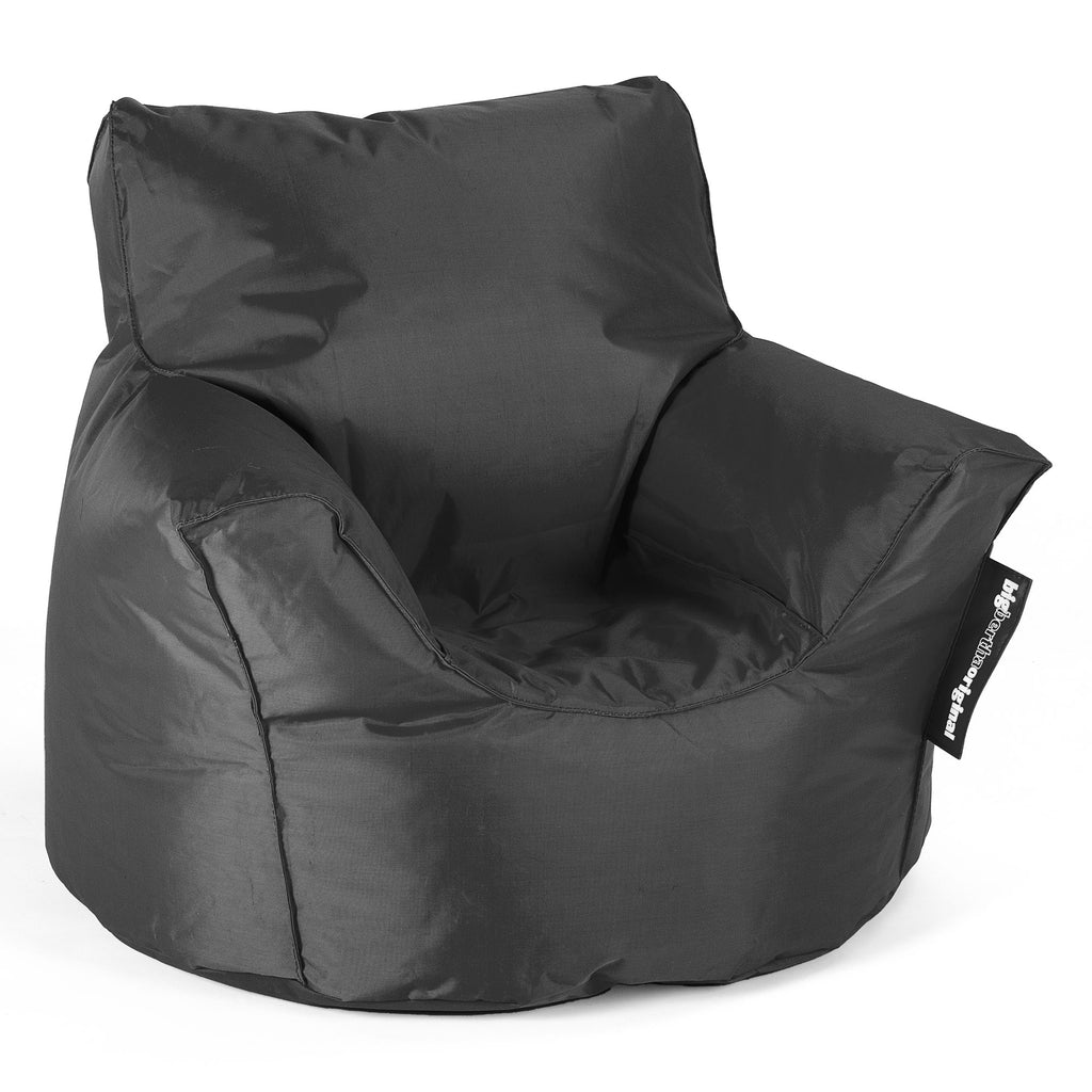 SmartCanvas™ Toddlers Armchair 1-3 yr Bean Bag - Black