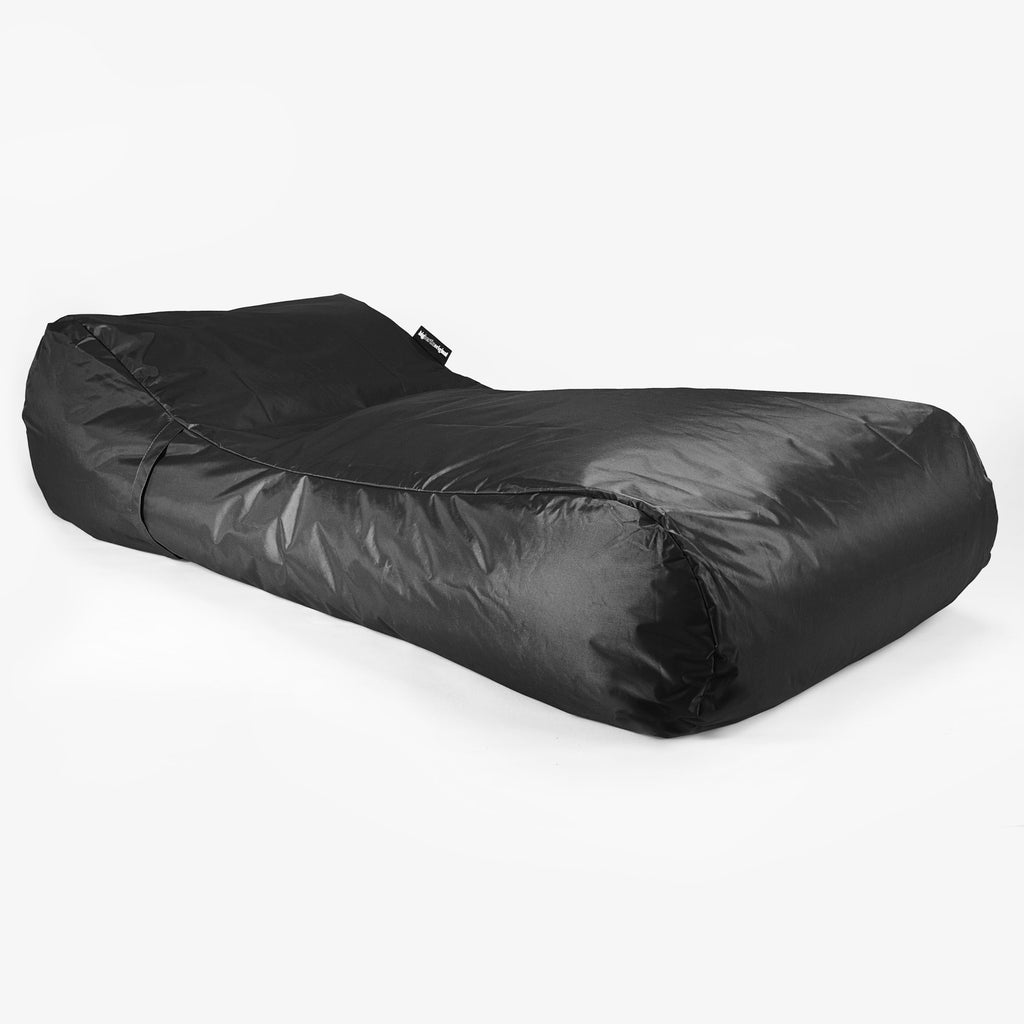 SmartCanvas™ Sun Lounger - Black