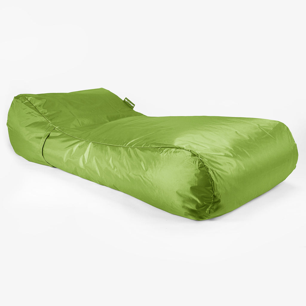 SmartCanvas™ Sun Lounger - Lime Green