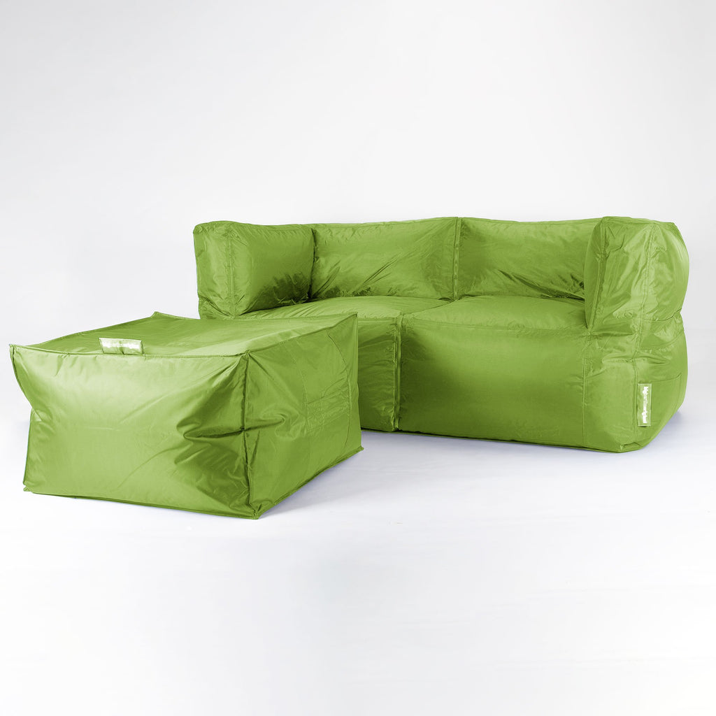 SmartCanvas-2-Seater-Modular-Sofa-Bean-Bag-Lime-Green_2