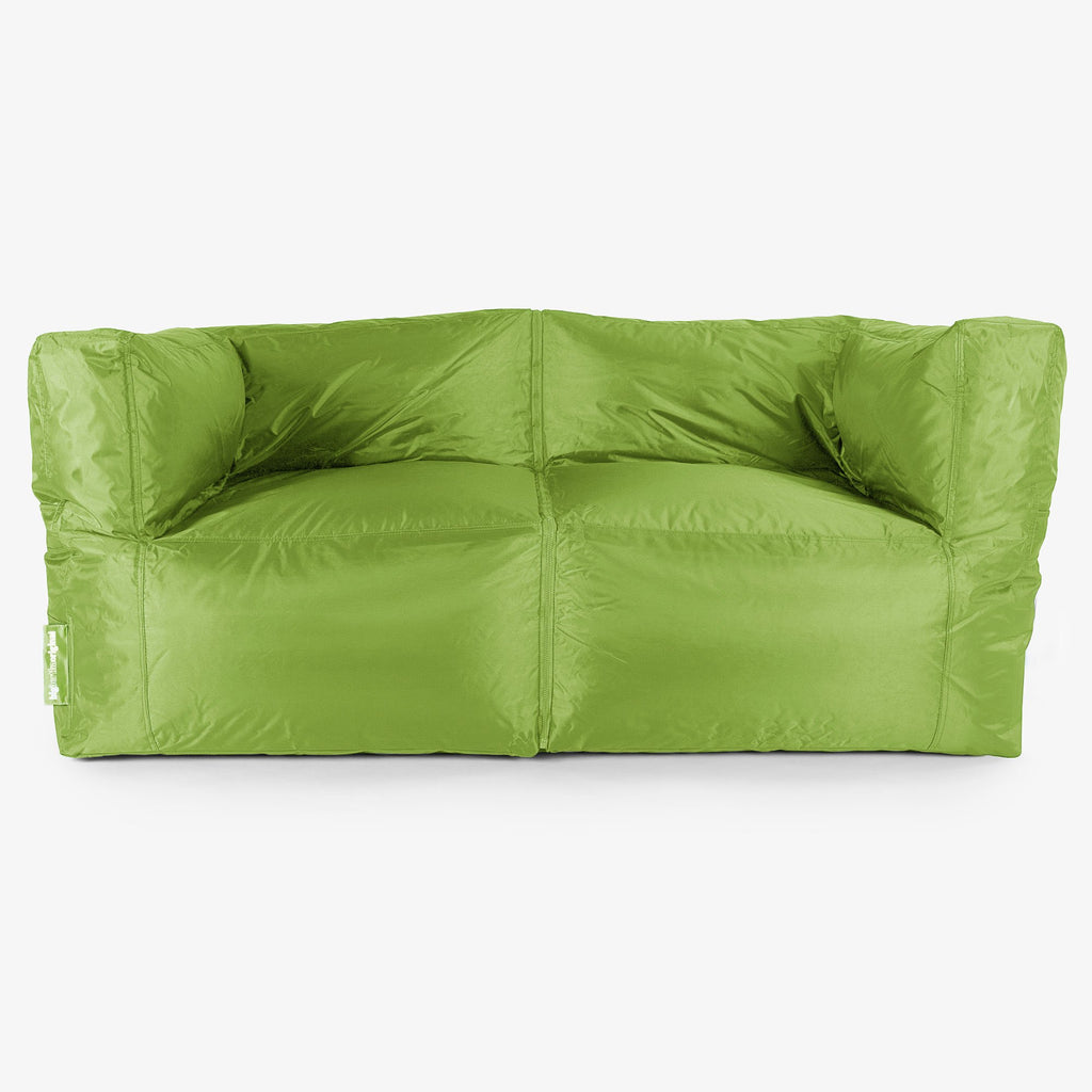 SmartCanvas-2-Seater-Modular-Sofa-Bean-Bag-Lime-Green_1