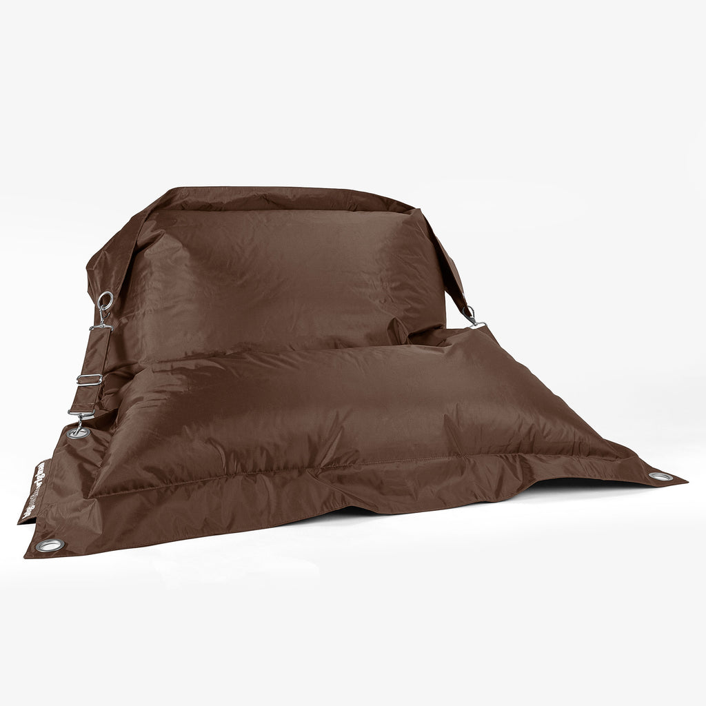 SmartCanvas™ XXL Braced Bean Bag - Brown