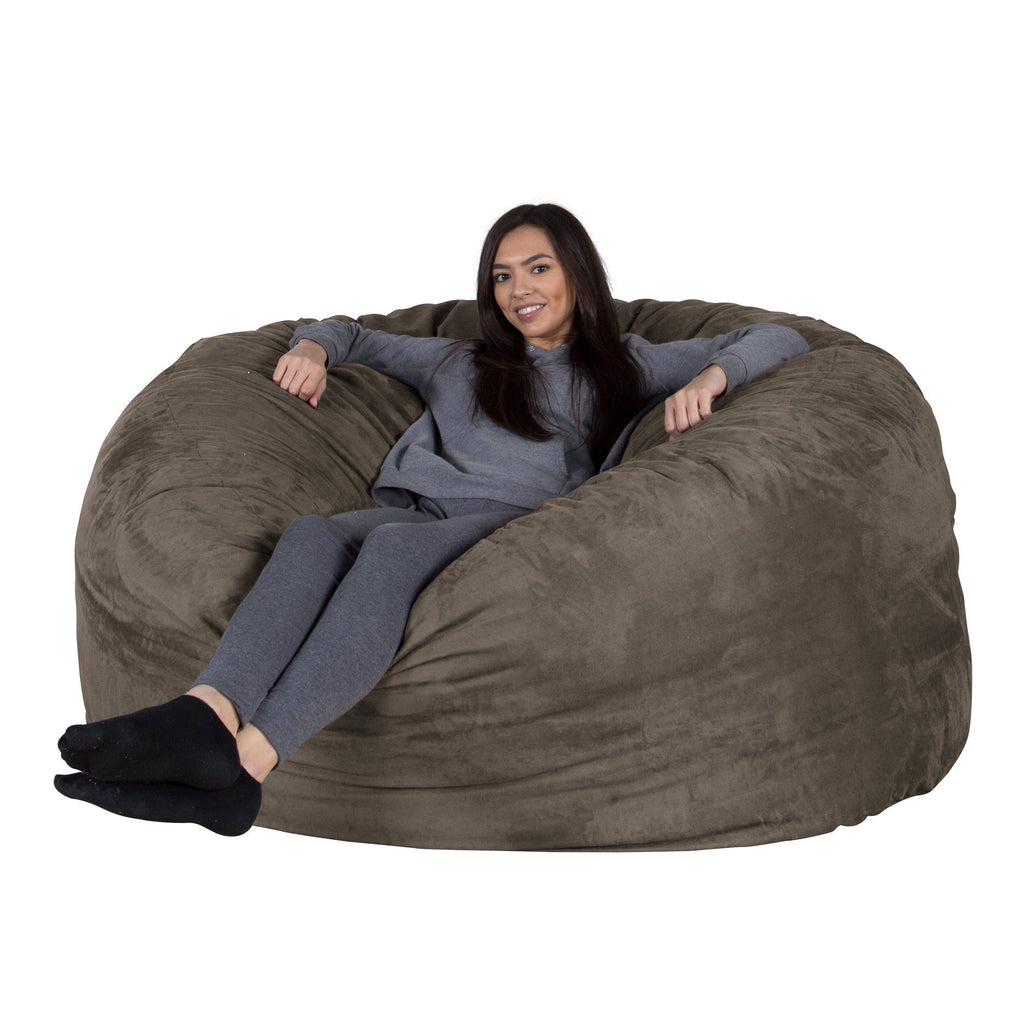 lounge-lizard-xxl-memory-foam-bean-bag-charcoal-grey_1