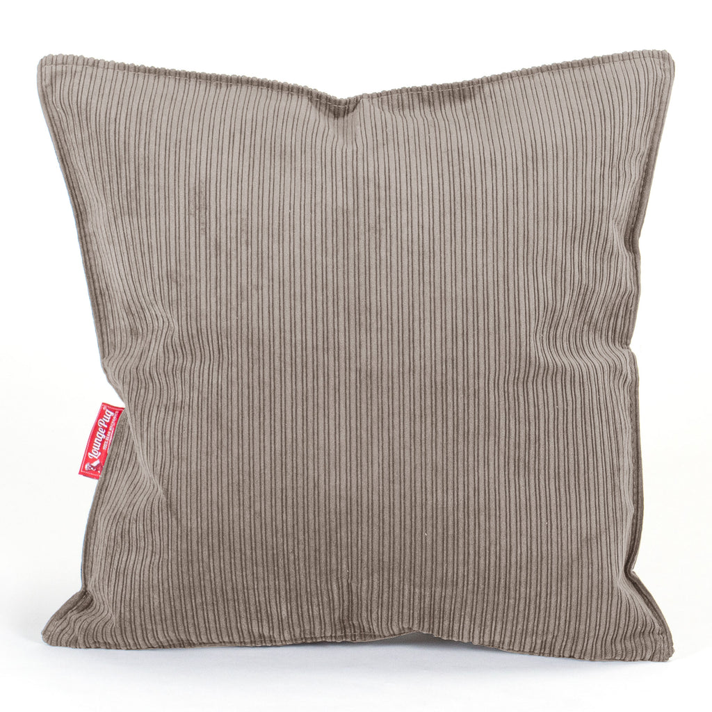 Scatter Cushions (2 sizes : 47cm / 70cm) - Pinstripe Mink