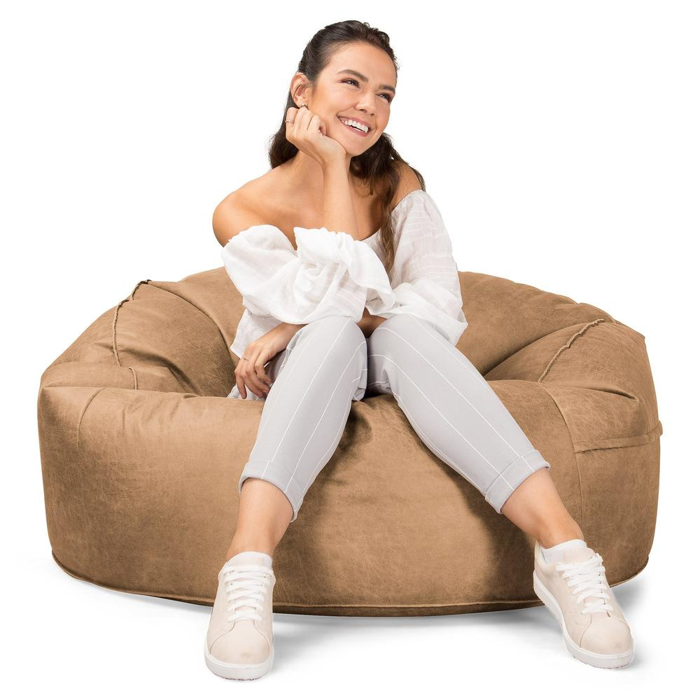 mammoth-bean-bag-sofa-distressed-leather-honey-brown_5