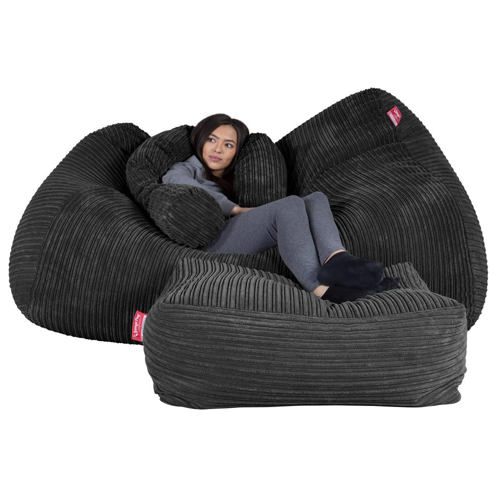 lounge-pug-mega-sofa-bean-bag-cord-black_3