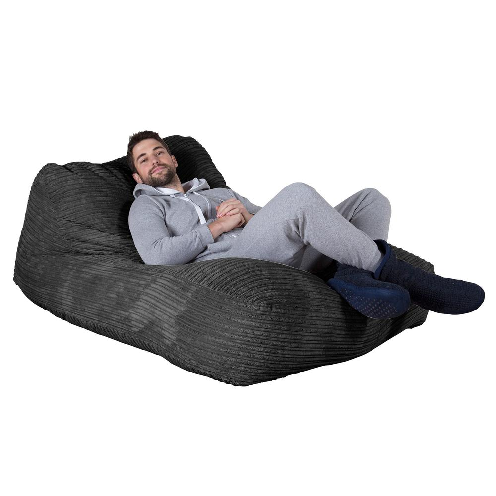 double-day-bed-bean-bag-cord-black_1