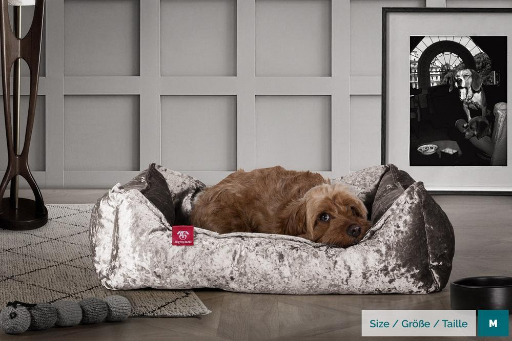 the-nest-orthopedic-memory-foam-dog-bed-glitz-silver_2