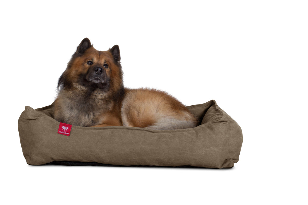 The Nest - Orthopedic Memory Foam Dog Bed - Stonewashed Denim Earth