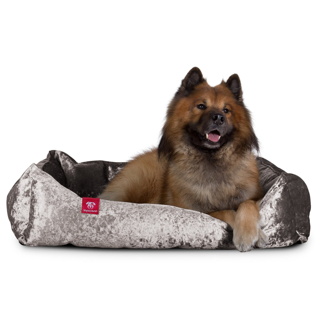 the-nest-orthopedic-memory-foam-dog-bed-glitz-silver_10