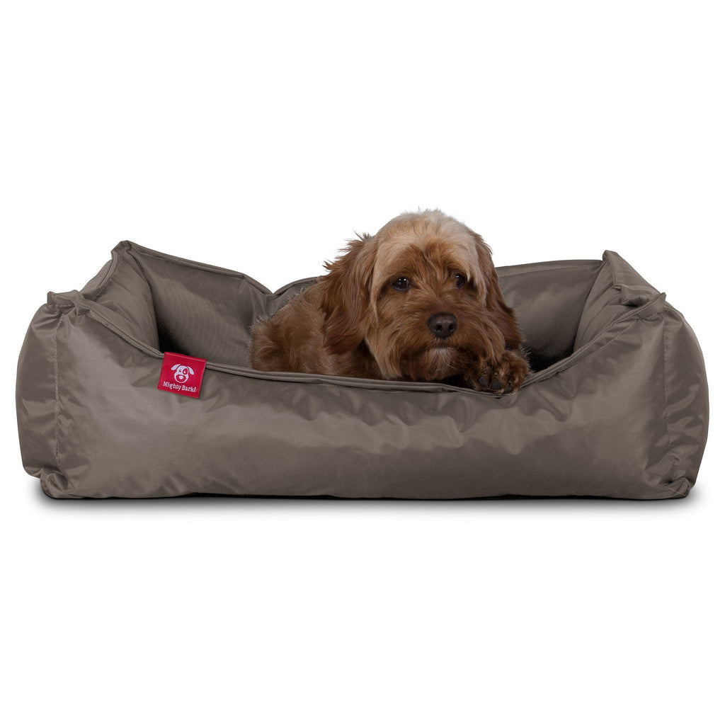 The Nest - Orthopedic Memory Foam Dog Bed - Waterproof Grey