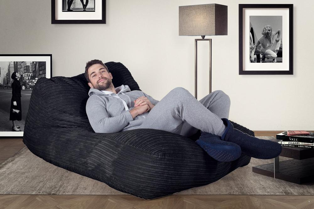 double-day-bed-bean-bag-cord-black_2