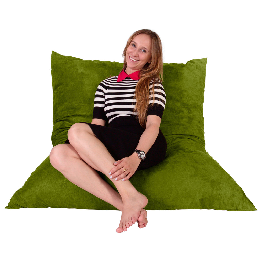 Lounge Lizard lounge lizard xl memory foam filled bean bag green_1