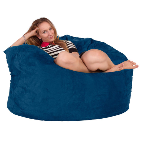 Cuddle Up Bean Bag Chair - Velvet Mink