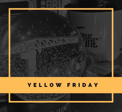 Avant le BLACK FRIDAY c'est le YELLOW FRIDAY
