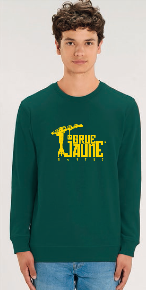 SWEAT Col Rond Original - La Grue Jaune