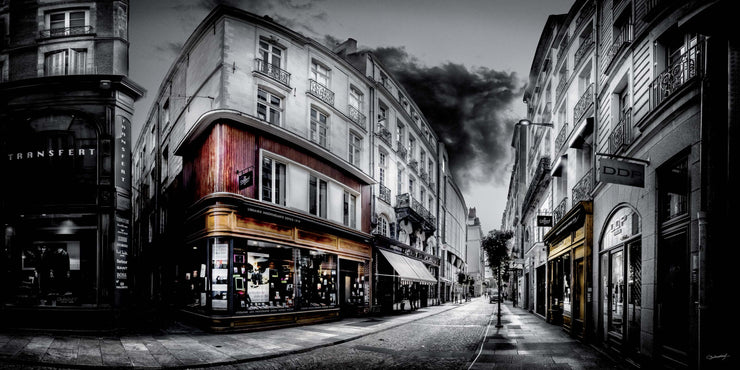 PHOTO OPEN CEDRIC BLONDEEL : rue de la Fosse - Nantes