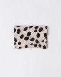 Black Dots Pony Hair Card Holder