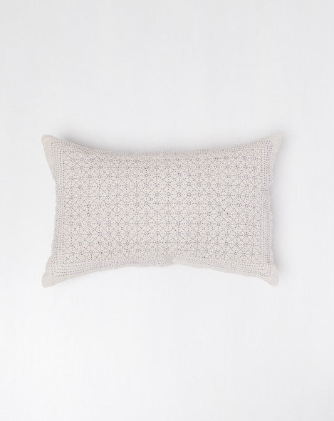 Cloud Indigo Stitched Pillow