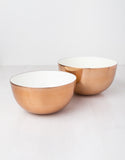 Copper Enamel Bowls