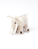 Felted Animal Ornament Elephant