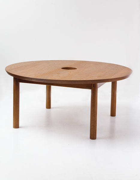 Full Moon Solid Oak Coffee Table