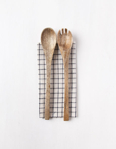Mango Wood Salad Server