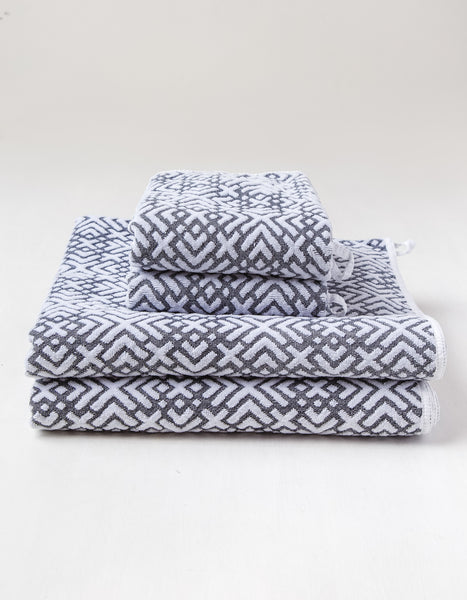 Wolves Within - Reversible Geo Block Towels