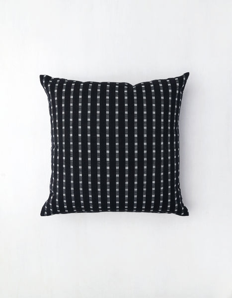 Smoke Lines Textured Cotton Pillow
