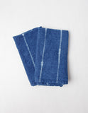 Set of 2 Indigo Linen Napkins