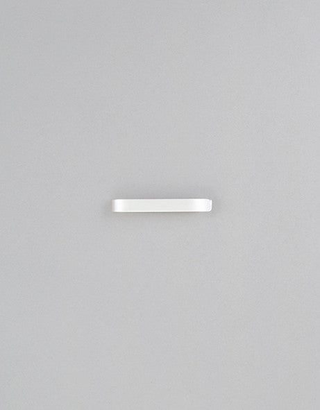 Sterling Silver Brushed Tie Clip