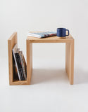 White Oak Side Table