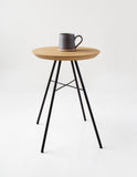 White Oak Stool/Side Table