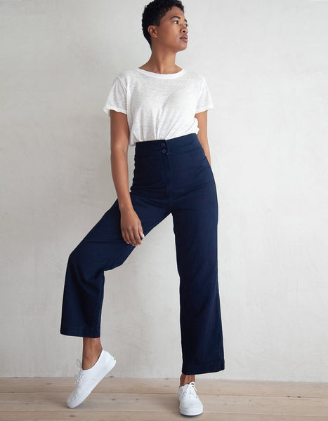HIGH RISE COTTON PANT