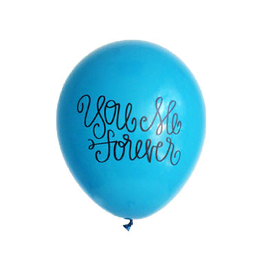 SALE - You Me Forever Hand Lettered Balloons