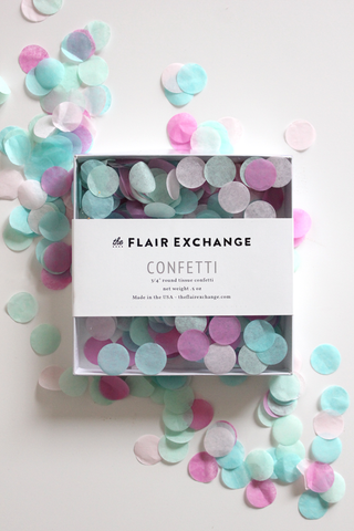 The Flair Exchange® - Handcut Confetti - Candy Shoppe