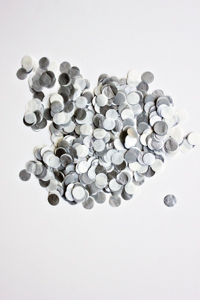Handcut Confetti - Sterling