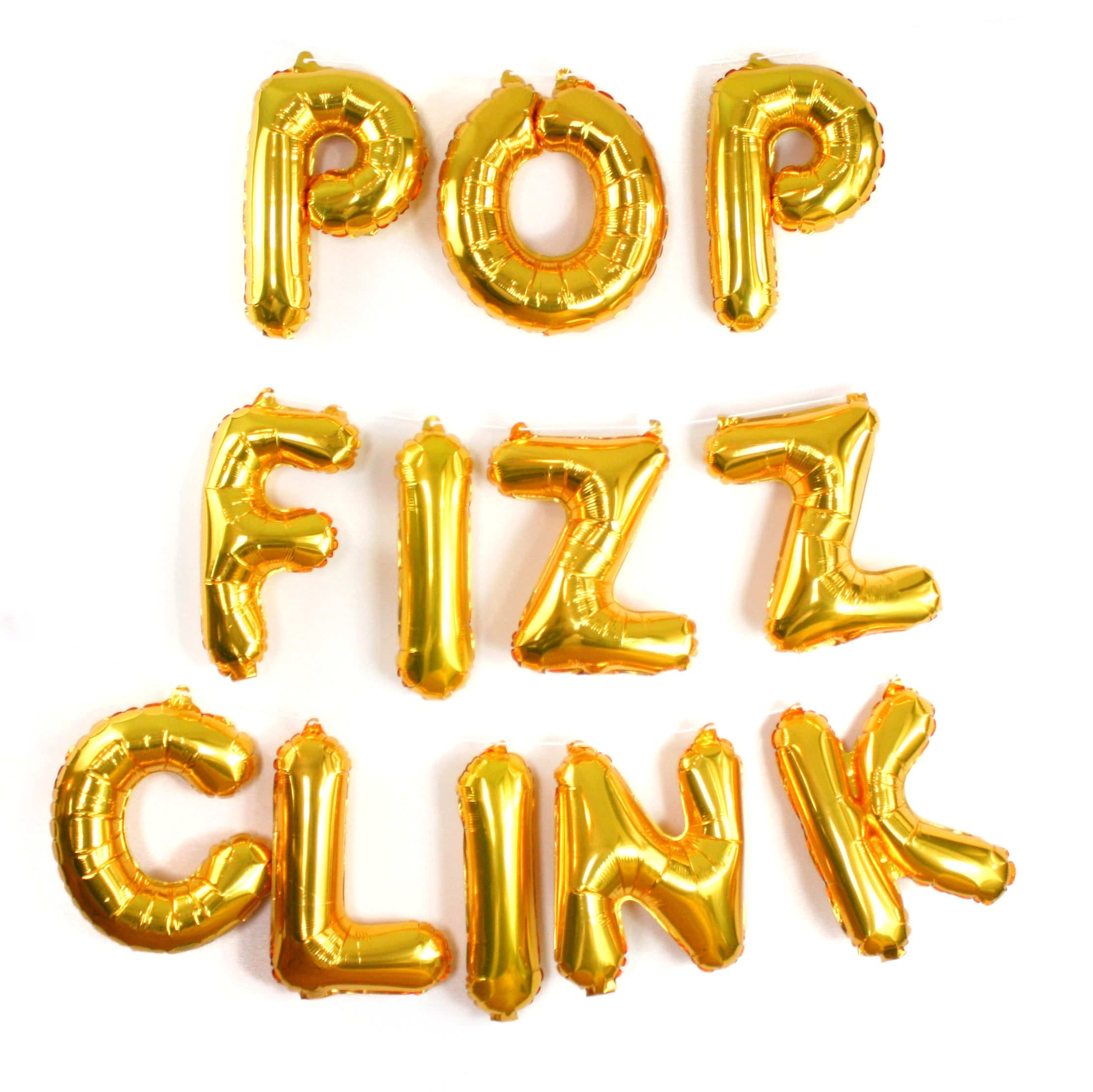 Pop Fizz Clink Balloon Garland Kit