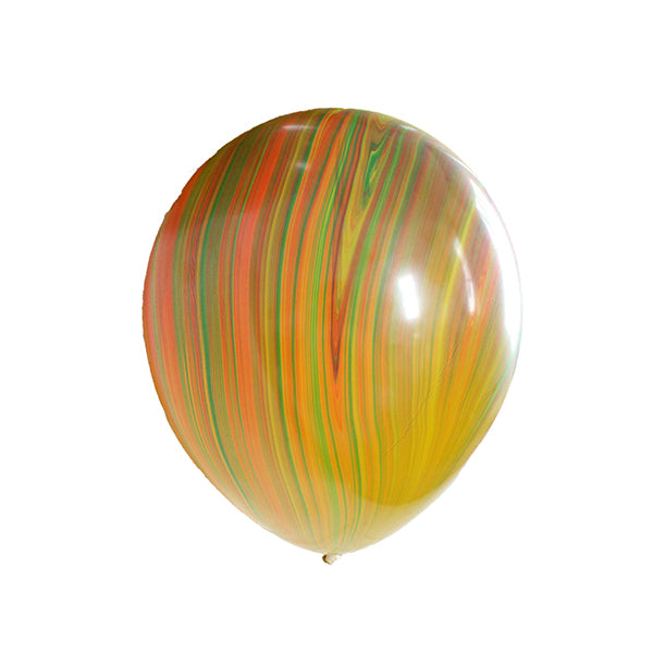 Bright Agate Marbled Balloons