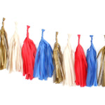 Tissue Paper Tassel Garland Kit - Band Camp