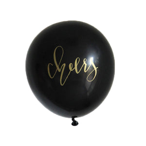Calligraphy CHEERS Balloons
