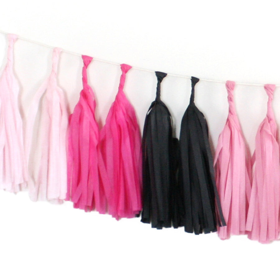 Tissue Paper Tassel Garland Kit - Flamingle
